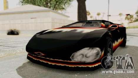 GTA 3 Diablos Infernus for GTA San Andreas
