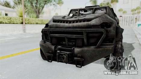 PITBULL from CoD Advanced Warfare for GTA San Andreas left view