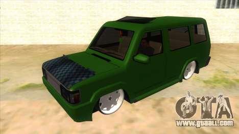 Toyota Kijang Grand Extra IKC for GTA San Andreas