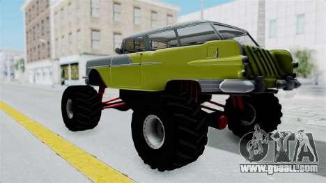 Pontiac Safari 1956 Monster Truck for GTA San Andreas back left view