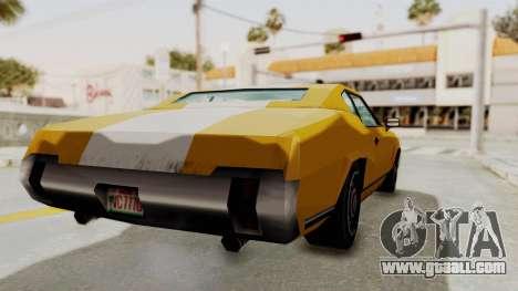 GTA VCS - Cholo Sabre for GTA San Andreas back left view