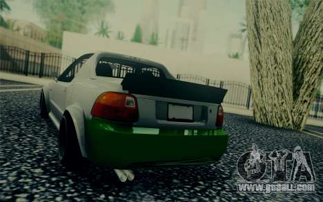 Honda Stance for GTA San Andreas back left view