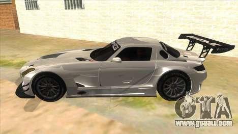 Mercedes Benz SLS AMG GT3 for GTA San Andreas left view
