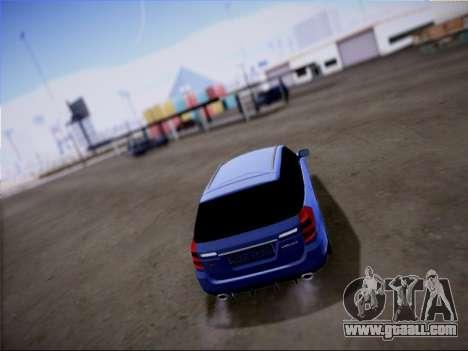 Subaru Legacy STi Wagon 2008 for GTA San Andreas side view