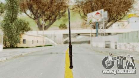 Skyrim Iron Tanto for GTA San Andreas third screenshot