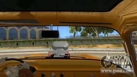 1958 Chevrolet Apache Monster Truck for GTA San Andreas inner view