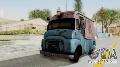 Hitman Absolution - Ice Cream Van for GTA San Andreas