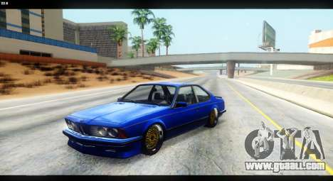 BMW M635 CSi (E24) for GTA San Andreas side view