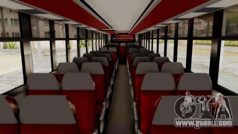 Superlines Ordinary Bus for GTA San Andreas inner view