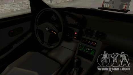 Nissan 240SX Monster Truck for GTA San Andreas inner view