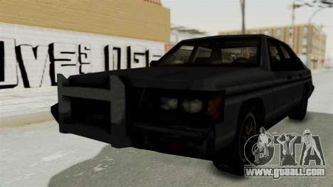 Cruiser from Manhunt 2 for GTA San Andreas back left view