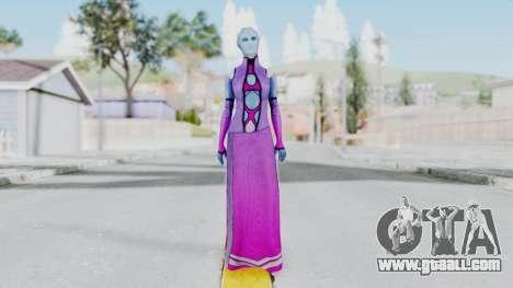 Mass Effect 1 Shaira Dress for GTA San Andreas second screenshot