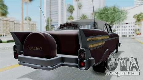 GTA 5 Declasse Tornado Bobbles and Plaques for GTA San Andreas left view