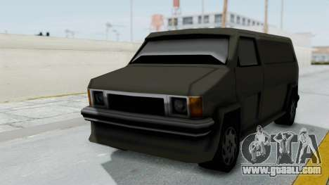 Burrito from Manhunt 2 for GTA San Andreas back left view