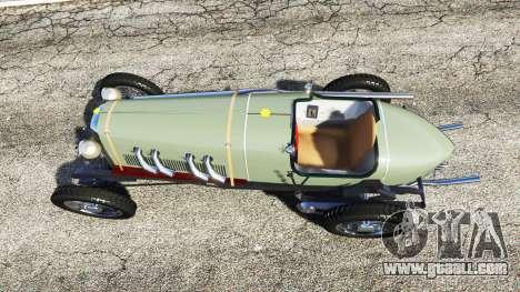 GTA 5 Fiat Mefistofele back view