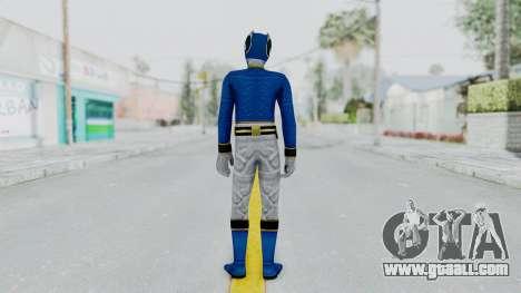 Power Rangers Megaforce - Blue for GTA San Andreas third screenshot