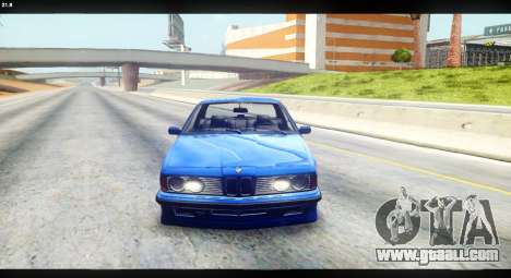BMW M635 CSi (E24) for GTA San Andreas right view