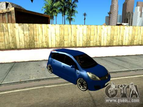 Nissan Note KURMIN StreetRacer for GTA San Andreas left view