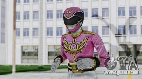 Power Rangers Samurai - Pink for GTA San Andreas