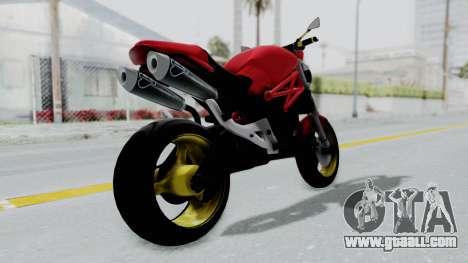 Ducati Monster for GTA San Andreas left view