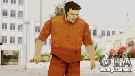 Claude Speed (Prision) from GTA 3 for GTA San Andreas