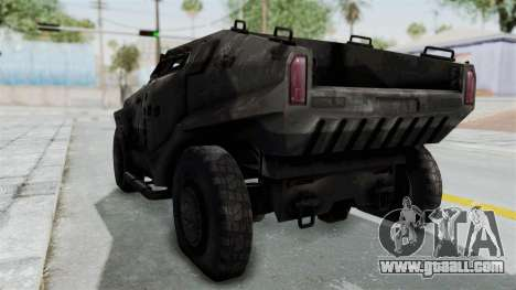 PITBULL from CoD Advanced Warfare for GTA San Andreas right view
