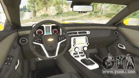 Chevrolet Camaro SS 2014 v1.1 for GTA 5