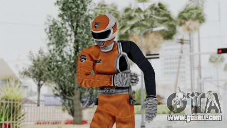 Power Rangers S.P.D - Orange for GTA San Andreas
