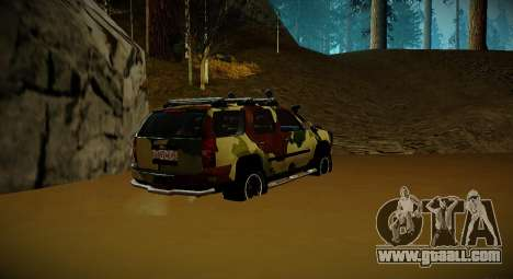 Chevrolet Tahoe LTZ v2 Camofluge for GTA San Andreas left view
