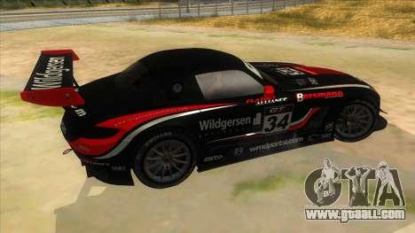 Mercedes Benz SLS AMG GT3 for GTA San Andreas upper view