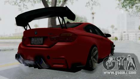 BMW M4 F82 Race Tune for GTA San Andreas left view