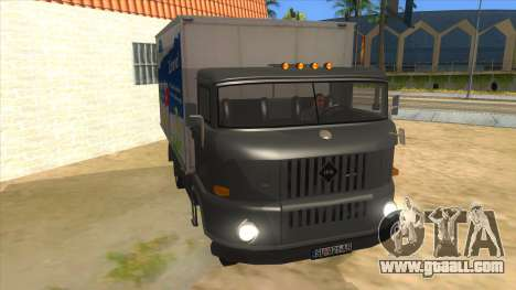 IFA W50 for GTA San Andreas back view