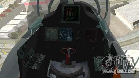 SU-30 MKI for GTA San Andreas right view
