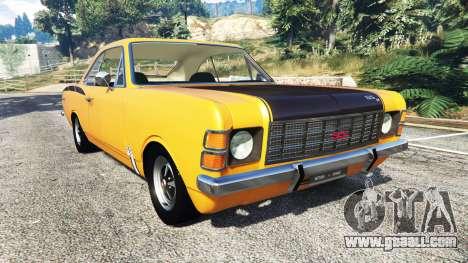 Chevrolet Opala SS4 1975 for GTA 5