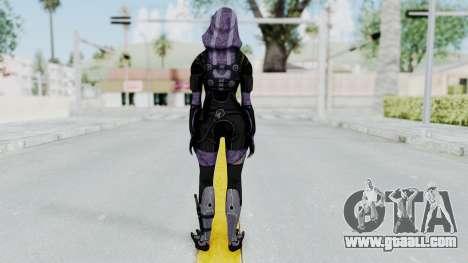 Mass Effect 3 Tali Zorah Unmasked for GTA San Andreas third screenshot