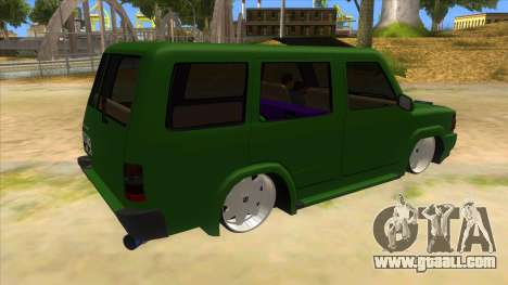 Toyota Kijang Grand Extra IKC for GTA San Andreas right view
