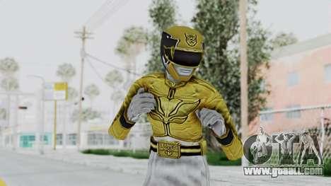 Power Rangers Megaforce - Yellow for GTA San Andreas