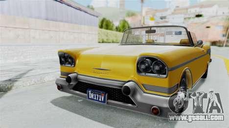 GTA 5 Declasse Tornado Bobbles and Plaques IVF for GTA San Andreas