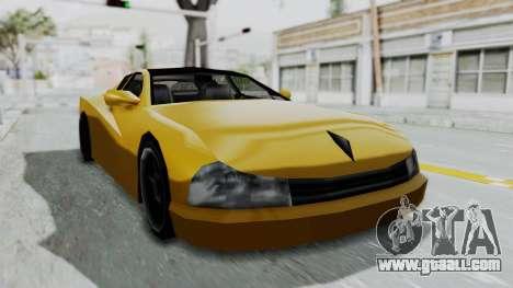 Cheetah ZTR v1 for GTA San Andreas