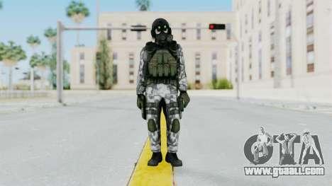 Black Mesa - HECU Marine v1 for GTA San Andreas second screenshot