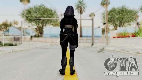 Mass Effect 3 Tali Zorah Armor DLC for GTA San Andreas third screenshot