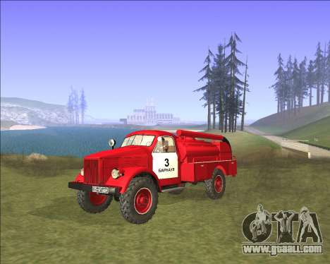 GAZ 63 Fire engine for GTA San Andreas