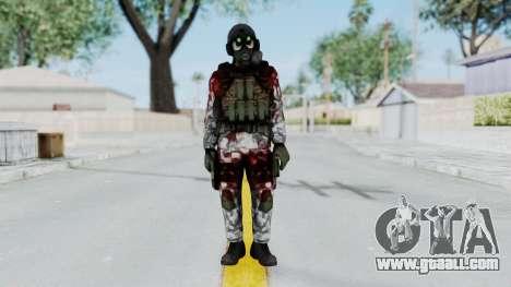 Black Mesa - Wounded HECU Marine v1 for GTA San Andreas second screenshot