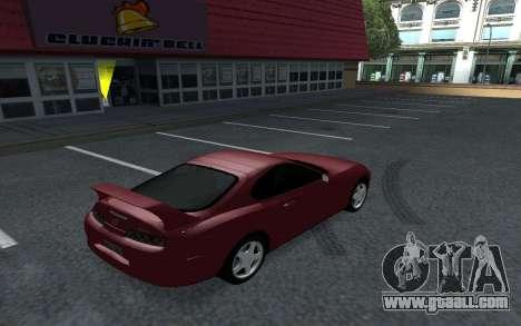 Toyota Supra Tunable for GTA San Andreas left view