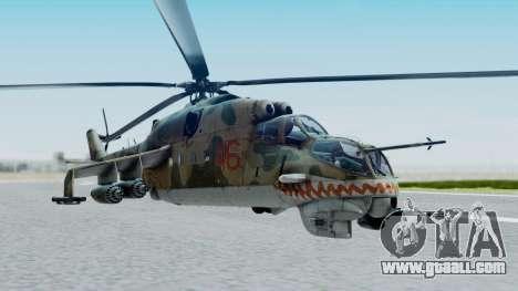 Mi-24V Russian Air Force 46 for GTA San Andreas