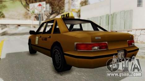 GTA 3 - Taxi for GTA San Andreas left view