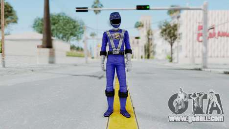 Power Rangers RPM - Blue for GTA San Andreas second screenshot