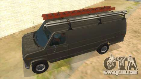 Ford E-250 Extended Van 1979 for GTA San Andreas upper view