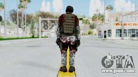 Black Mesa - Wounded HECU Marine Beret for GTA San Andreas third screenshot