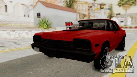 Dodge Monaco 1974 Drag for GTA San Andreas